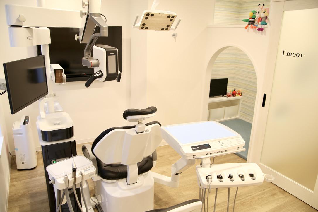 キッズスペース付き個室診療室